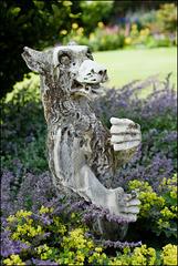 Dog-lion. Or lion-dog?