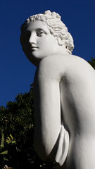 Statue in the gardens Adelaide South Australia