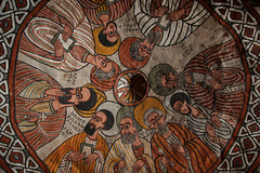 Wall Painting in Abuna Yemata Guh