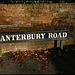 Canterbury Road sign