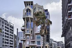 "Tzvi Harel's ""House on the Boardwalk,"" Take #1 – Retsif Herbert Samuel at Trumpledor Street, Tel Aviv, Israel"