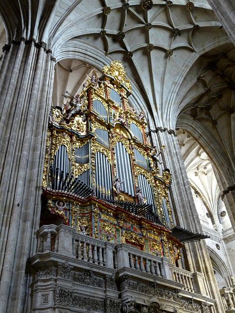 Salamanca- New Cathedral- Organ