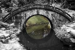 The Eye of the Bridge is the moon - HFF!