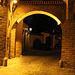 The Noodle's Gate  in Wrocław ( in the night) - Kluskowa Brama