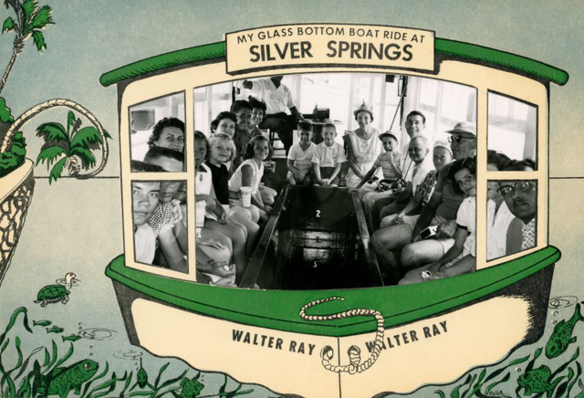 Glass Bottom Boat Ride at Silver Springs, Florida