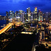 Blue Hour | Singapore from the Top