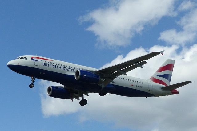 G-EUUF approaching Heathrow - 6 June 2015