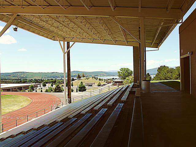 Stadium landscape