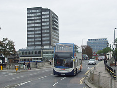 DSCF5636 Stagecoach East AE11 FUH in Bedford - 7 Oct 2016