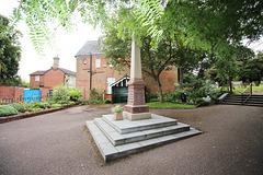 War Memorial, Thoroughfare, Halesworth, Suffolk