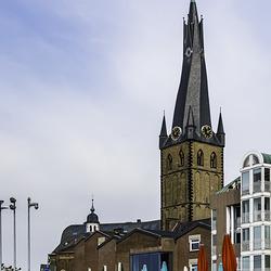 Der schiefe Turm von Düsseldorf