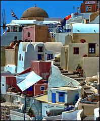 Santorini : Un dettaglio interessante di Oia - (959)