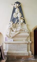 Memorial to the 4th Earl of Gainsborough, St Peter & St Paul's Church, Exton, Rutland