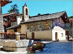 Jouvenceaux : la piccola chiesa nel centro - (708)