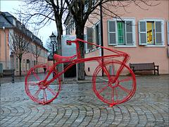 Das rote Fahrrad