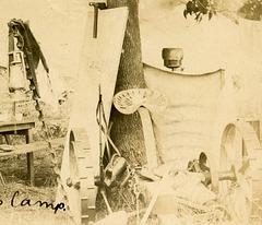 The Methodist Church Choir Camp, 1908—Sickle Mower