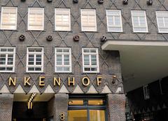 Fassade am Kontorhaus Sprinkenhof