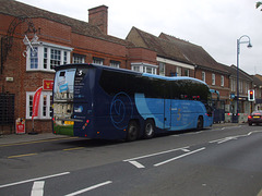 DSCF5598 Stagecoach East (Cambus) YX64 WCN in St. Neots - 7 Oct 2016