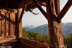 Abend auf der Berghütte - Evening at the mountain hut