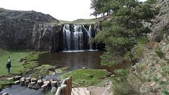 La cascade des Veyrines...