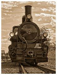 Schmalspurdampflokomotive