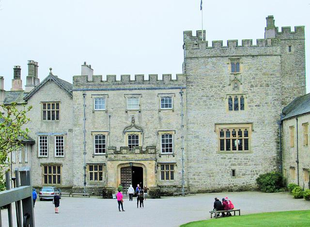 Sizergh Castle, entrance.