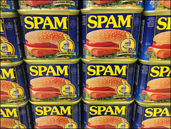 spam display at waikiki safeway