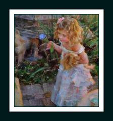 Rêve ou réalité,une petite fée, caresse pour les yeux et l'âme