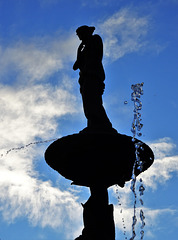 Albert Park fountain, late afternoon 1