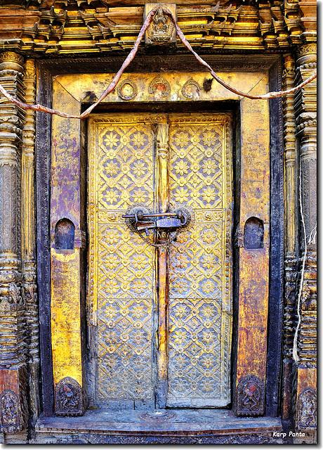 """Old door"" - Kathmandu - Nepal"