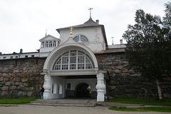 Святые (Западные) ворота Спасо-Преображенского Соловецкого монастыря