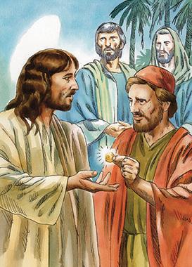 Pagu al la imperiestro tion, kio apartenas al li; sed donu al Dio tion, kio apartenas al Dio.