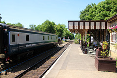 Overton ( for Ferry Meadows ) Station ~ Nene Valley Railway
