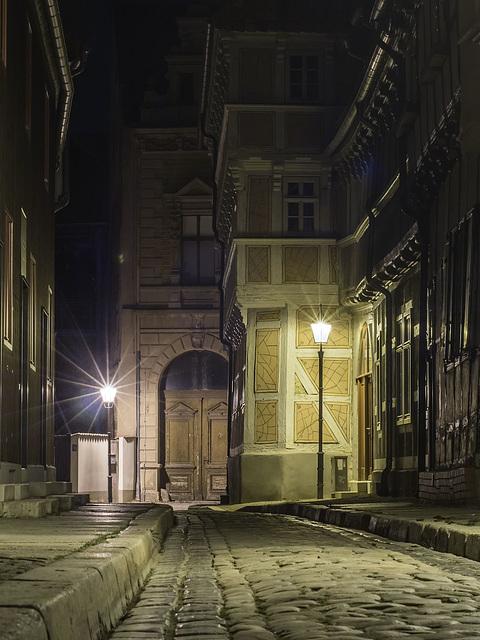 Um Mitternacht allein in Quedlinburg