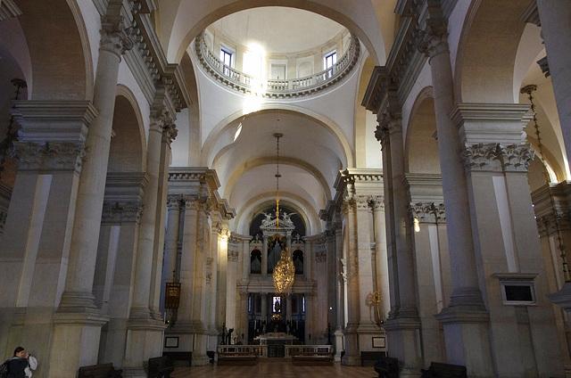 The nave, Chiesa di San Giorgio Maggiore
