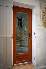 Window in a door
