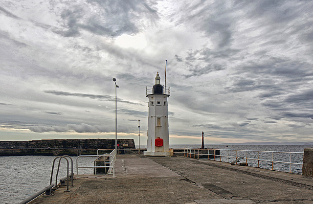 Anstruther lighthouse.  HFF everyone.
