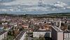 Belfort: 2018.04.16: Vue du 19' étage de la tour Madrid.