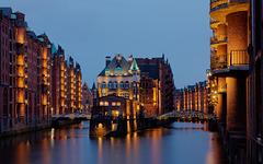 Nocturne sur Hambourg