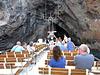 Vulcano- Entering a Narrow Cave