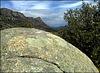 Large granite boulder