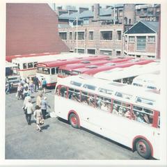 Wellington Street Coach Station, Leeds - 17 July 1972