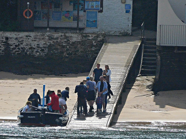 East Portlemouth ferry landing