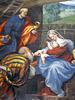 l'Adorazione dei Magi. affresco del Pordenone
