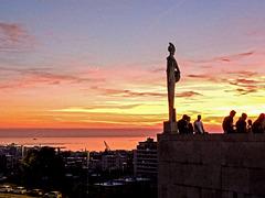 Tramonto dall'Università di Trieste