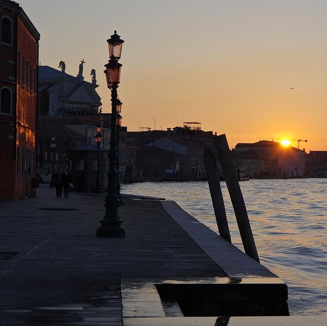Fondamente Croce, evening