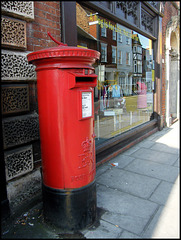 Salisbury pillar box
