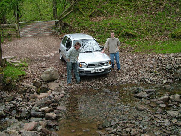 Mongol rally car test