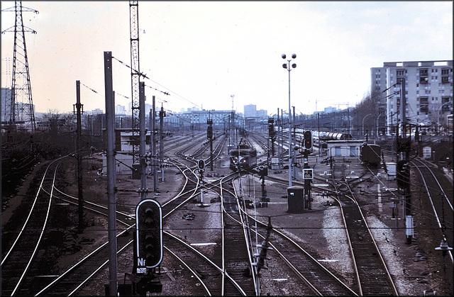 Villemomble (93) 17 mars 1979. (Diapositive numérisée).
