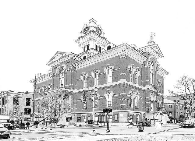Athens County, Ohio courthouse